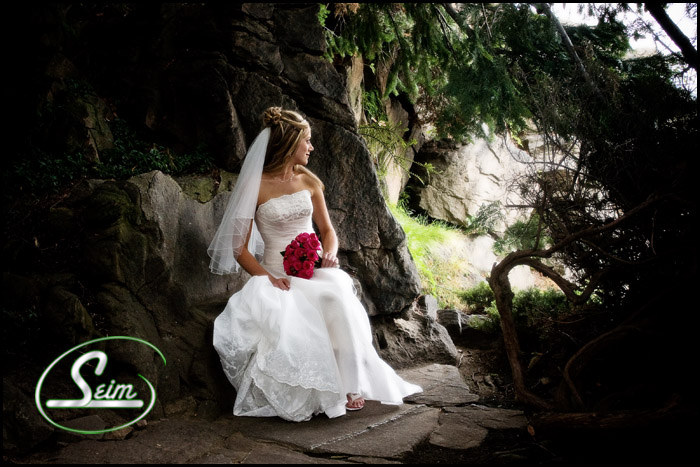 Shaun & Nicoles Wedding ~ Ohme Gardens in Wenatchee wedding photography