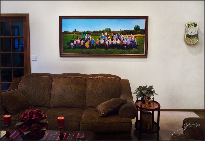 canvas family portrait on wall washington Wall Portraits   Why That 8x10 Is Stealing Your Career: